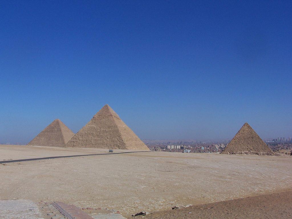 Armando Iachini-Pirámides de Egipto