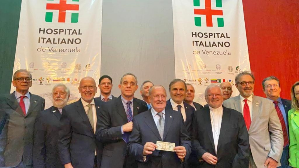 Armando Iachini - Hospital italiano en venezuela